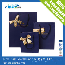 Factory Quality Cheap Recycle Luxury paper shopping bag for shopping